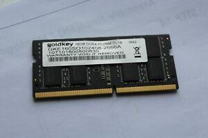 Goldkey 16GB DDR-4 2666MHz RAM laptop memory DDR4