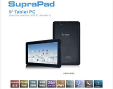 "BRAND NEW  iVIEW-930TPC SupraPad Dual-Cam 1GB RAM, 8GB, 9"" Android 5.1 Tablet"