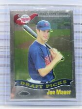 2002 Topps Chrome Joe Mauer Rookie Card RC #622 Twins (B) C99