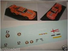 "PORSCHE 935 BRANDS HATCH 1977 ""JAGERMEISTER"" DECAL 1/43"