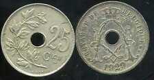BELGIQUE 25 centimes 1929 ( belgique)