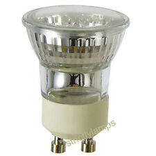 10 x Mini GU10 Halogen Light Bulbs 35mm Small GU10 35W