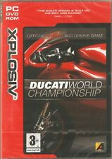 Ducati World Championship (PC CD Game) NEW & Factory Sealed Motorbike Motorcycle