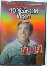 The 40-Year-Old Virgin (DVD, 2005, Widescreen; Unrated) Steve Carell (NTSC/US/C)