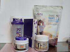 VIVRI- Essential Nutrition System- Vanilla Shake- Caffe Latte- 10 Day Challenge