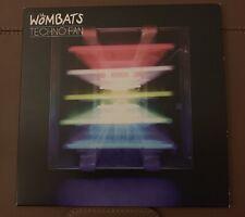 RARE - Wombats - Techno Fan - Cardboard Sleeve Promo CD Single