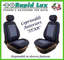 """Coppia fodere coprisedili anteriori Star per Peugeot 308 fantasia """"S64"""""""