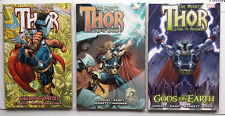 Mighty Thor Gods & Men Lord of Asgard Gods On Earth TPB Set Unread NM Jurgens
