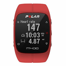 Polar M400 Red With Heart Rate