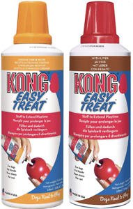 Kong Easy Treat Paste - Cheddar Cheese Liver Dog Treat Kong Lickimat 226g