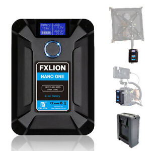 FXLION NANO ONE V-Mount V-Lock Battery 14.8V 50WH For Camera/Monitor/Smartphone