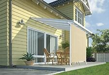 Easy2Hang Alternative Solution for Roller Exterior Shade for Pergola 8x8ft Wheat