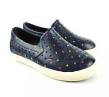 Baby Gap Perforated Slip On Shoes Sneakers Toddler Size 9-10 Water Polka Dot