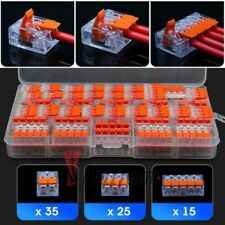75in1 221 Electrical Connectors 235 Ways Wire Block Clamp Terminal Cable