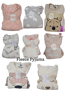 Love to Lounge Fleece Pyjama Set with Various Design to Choose