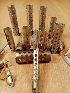 Hair curlers set rollers aluminum 1970s soviet  ussr Vintage бигуди СССР