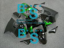 Black INJECTION Fairing Plastic Kit Set Kawasaki ZZR600 05-08 055 A7