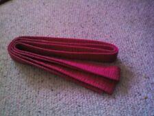 Blitz Red karate belt