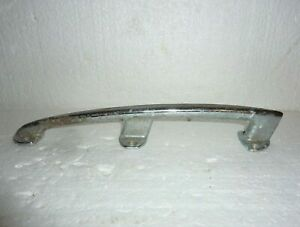 """Vintage Large Chrome Boat Cleat Front Bow Handle 12"""" Long  S-25"""