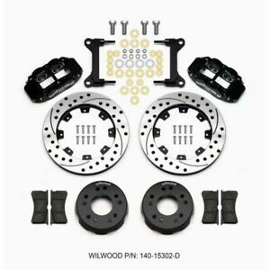 Wilwood 140-15302-D Front Disc Brake Kit C10 Pro Spindle 12.19 Inch Rotor