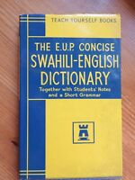 EUP Swahili-English Dictionary HB/DJ (Teach Yourself Books)