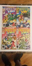 Fantastic Four vs. X-Men #1-4 Full Set (1987 Marvel)