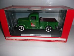 1/24 VEHICULE FORD DELIVERY PICK-UP 1937 COCA-COLA VERT-MOTORCITYMCITY424001