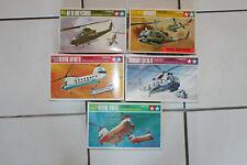 Sammlung Flugzeug Modellbausatz 1:100 5 Hubschrauber Tamiya
