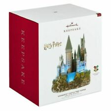 Hallmark Keepsake 2019 Harry Potter Hogwarts Castle Tree Topper Ornament - QXI3277