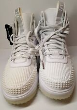 Nike Lunar Force 1 Duckboot White For Men Size 9 New Without Box / Defects