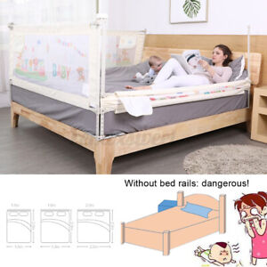 Bed Rail Single Safety Guard For Baby Infant Side Mesh Barrier Large 3 Colors ~~