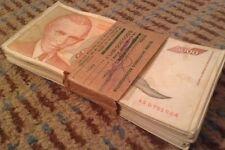 BANCONOTA JUGOSLAVIA Bundle. 100 x 5,000 Dinara. DATATO 1993.