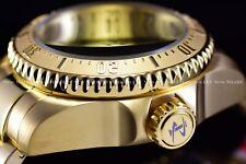 Invicta Men 52mm Reserve Hydromax Gold Swiss Movt 1000M Diver Black Dial Watch