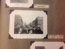 1950 Europe  Photo Album, 290 Photos, 25 Post Cards, Leon Blum Funeral,