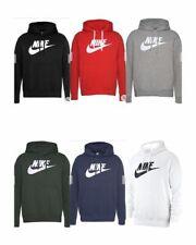 Nike Hoodie Club Fleece Graphic Pullover Hoodie Hooded Sweatshirt (NK-906)