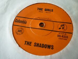 THE SHADOWS---THE GIRLS      45
