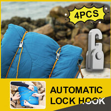 Automatic Lock Hook Self-locking Free Knot Easy Tighten Rope Kit For Campi$s