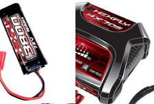 Redcat RC Fast Battery Charger HEXFLY HX-705 + HX-3800MH-BV2 Battery Set