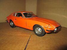 SUNSTAR 1/18 1971 DATSUN 240Z ORANGE 1:18 DIECAST MODEL CAR nice details loose