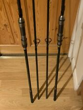 "2 X DAVE LANE Razer Carp Rods 12"" 3.0lb T/C - Rare Collectable"