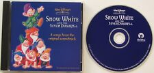 WALT DISNEY...SNOW WHITE AND THE SEVEN DWARFS..4 SONGS FROM SOUNDTRACK MUSIC CD
