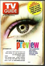 TV GUIDE-9/2003-FALL PREVIEW-NCIS-ONE TREE HILL-LOS ANGELES METRO EDITION