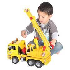 BRUDER 02754 Man TGA Crane Lorry Truck Tc4500 1 16 Scale Toy
