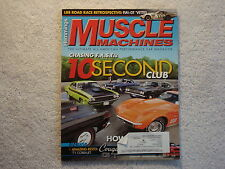 Muscle Machines 2009 August 1979 Camaro Z28 1969 70 Pontiac GP/SJ 71 Barracuda