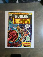 Worlds Unknown # 1  VF The Coming of the Martians! Marvel Comics May 1973