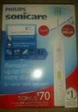 Philips Sonicare HealthyWhite Plus Sonic Electric Toothbrush, HX8911/02