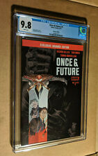 Once & Future #1 SDCC Exclusive Advance Edition Boom Studios CGC 9.8 NM+/M