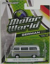 GREENLIGHT Motor World - 1976 VOLKSWAGEN TYPE 2  German Edition Series 16 1:64