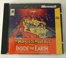 Scholastic's The Magic School Bus Explores Inside The Earth CD-ROM Windows 95