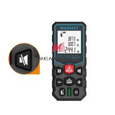 Handheld Digital Laser Point Distance Meter Measure Tape Range Finder 132ft40m